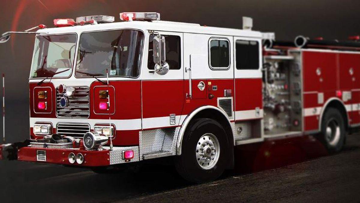 Fire damages three garages in Fargo